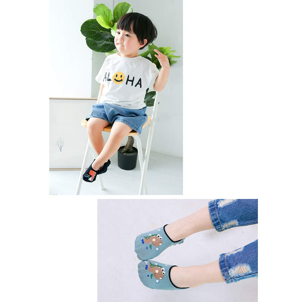 Children Cartoon Cute Anti-Skid Floor 14 Pairs of Girls Bow Cotton Breathable Casual Socks Invisible Socks