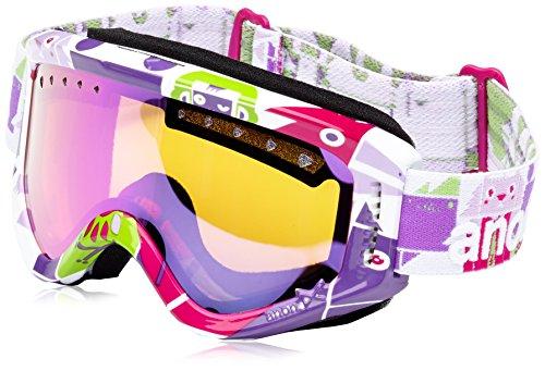 Anon Tracker anteojos para Nieve Wildlife/Rosa Ámbar para niños/niños