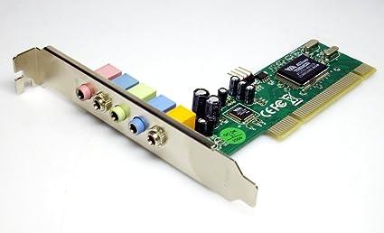 Keyteck SC-5.1-1 Tarjeta de Audio - Tarjeta de Sonido (PCI ...