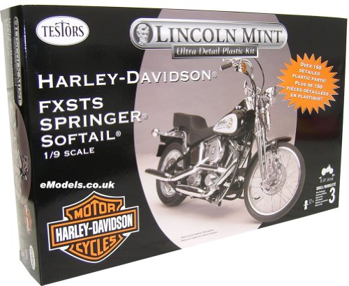 Testors Harley-Davidson FXSTS Springer Softail 1/9 Model Kit