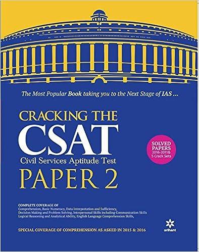 Cracking the CSAT Paper-II