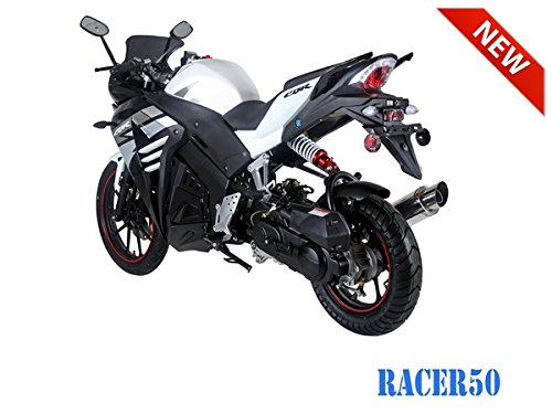 SmartDealsNow 49cc Sports Bike Racer50 Automatic Bike Racer 50 Motorcycle by TAO (Image #7)