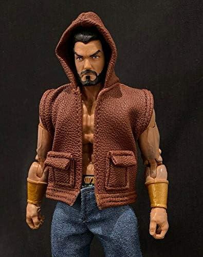No Figure BL-PT-I 1//12 Dark Green Pants for Marvel Legends Medium Size Body