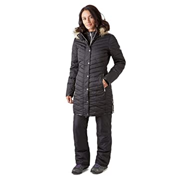 432340bcdd Dare2B Women s Svelte and Breathable Quilted Outdoor Ski Waterproof  Insulated Jacket