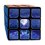 AVABAODAN Dolphins Couples Rubik's Cube Custom 3x3x3 Magic Square Puzzles Game Portable Toys-Anti Stress For Anti-anxiety Adults Kids
