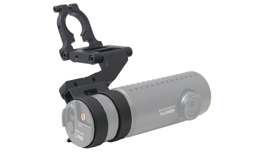 BLENDMOUNT INNOVATIVE MOUNTING SOLUTIONS BlendMount BBV-2000R, Aluminum Dashcam Mount for BlackVue DR900S/750S/650S/590W Series Series - Patented Design Made in USA - Looks Factory Installed