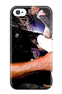 ZippyDoritEduard Perfect Tpu Case For Iphone 4/4s/ Anti-scratch Protector Case (metallica)