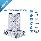 10 20 furnace filter - 10x20x1 Merv 8 Pleated AC Furnace Air Filters. Box of 6