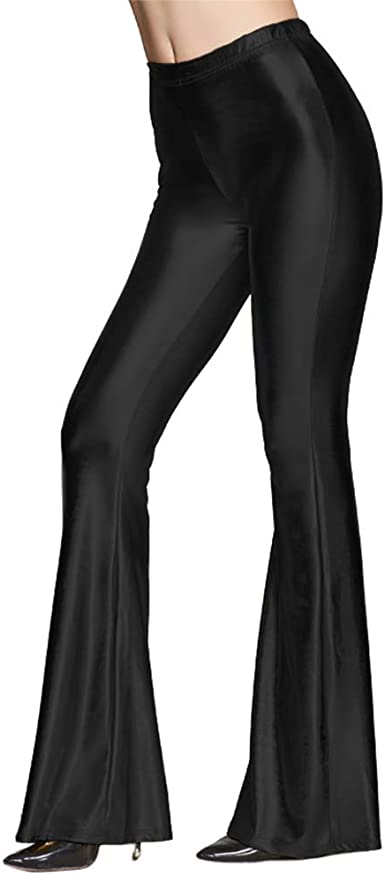 Women Girls Hot Sale Skinny Bell-bottoms Long Pants Casual Club Party Trousers