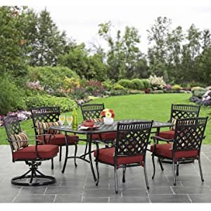 Better Homes and Gardens Dawn Hill 7-Piece Aluminum Dining Set