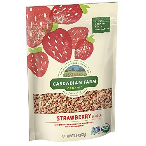 Cascadian Farm Organic Strawberry Granola, 10.5 oz