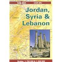 Jordan, Syria and Lebanon (Lonely Planet Travel Atlas)