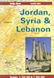 Jordan, Syria and Lebanon (Lonely Planet Travel Atlas)