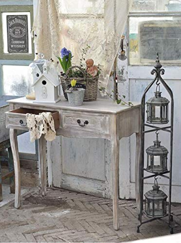 PierSurplus Metal Candle Lanterns with Stand - Three-Tier Lantern Stand for Yard Product SKU: CL221880 by PierSurplus (Image #1)