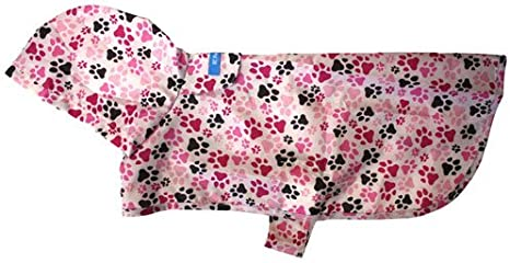 Pitter Patter Chocolate Medium RC Pet Products Packable Dog Rain Poncho