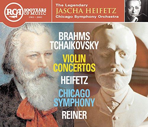 Brahms / Tchaikovsky, Violin Concertos: Heifetz, Chicago Symphony, Reiner
