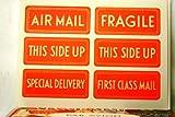 24 Pages of Cavallini Par Avion Vintage Air Mail