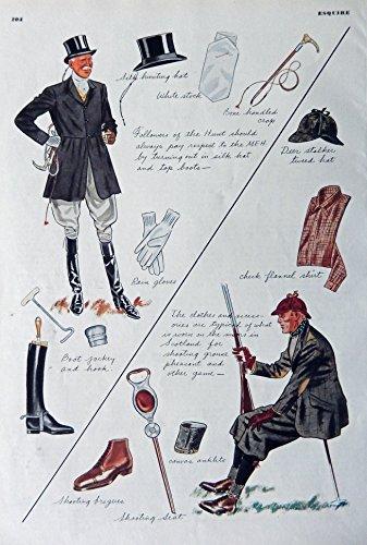Robert Goodman, Fashion Page. Original Vintage 30