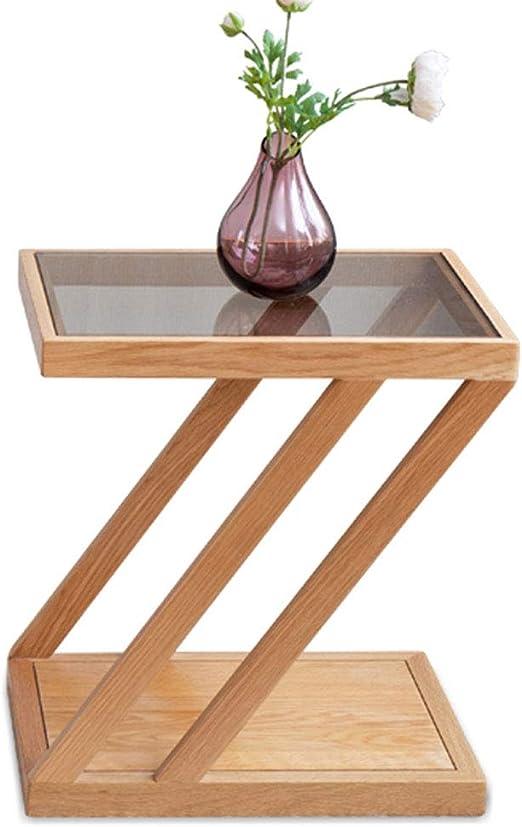 Mesa de Centro nórdica de Vidrio Simple para Sala de Estar, Mesa ...