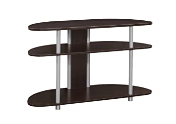 Amazon Com Monarch Tv Stand 38 Cappuccino Kitchen Dining