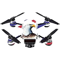 Skin For DJI Spark Mini – Eagle Head | MightySkins Protective, Durable, and Unique Vinyl Decal wrap cover | Easy To Apply, Remove, and Change Styles | Made in the USA