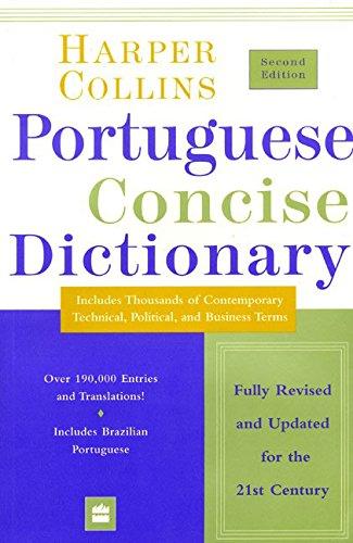 Collins Portuguese Concise Dictionary 2e (HarperCollins Concise Dictionaries) (English and Portuguese Edition)
