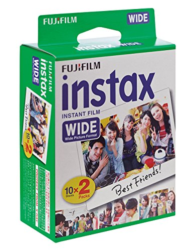 Fujifilm instax Wide Instant Film, 20 Exposures, White, Old - A Polaroid Buy