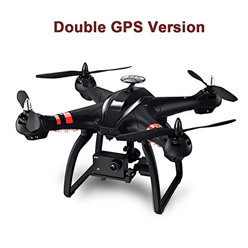 SMRC BAYANGTOYS X21 Professional UAV Dual GPS Brushless Motor Remote Control Quadcopter 2.4G 6Axis Gyro Remote Control Drone with WIFI 1080P Camera FPV Remote Control Helicopter Follow me