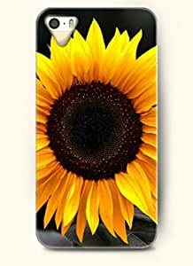 OOFIT phone case design with Bright sunflower for Apple iPhone 4 4s