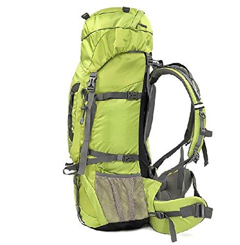 zaino trekking Sport e tempo libero zaino alpinismo borsa tracolla in nylon spalla degli uomini borsa e Donne Sport Leisure Travel Escursionismo Borsa di grande capienza viene con la copertura della p