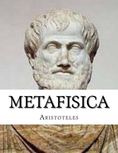 Metafisica: Metafisica de Aristoteles (Spanish Edition) [Aristoteles] (Tapa Blanda)