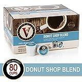 Donut Shop Blend for K-Cup Keurig 2.0 Brewers, Victor Allen's Coffee Medium Roast Single Serve Coffee Pods, 80 Count