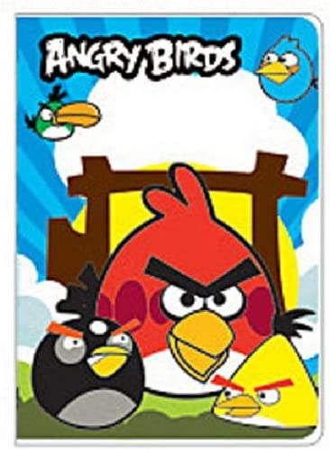 The Three Angry Birds Passport Cover Holder ~ No more bent corners during travel