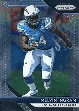 0e1e95b51 2018 Panini Prizm Football  101 Melvin Ingram Los Angeles Chargers Official  NFL Trading Card