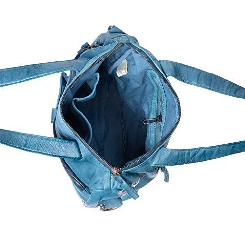 Dudu - Sac porté épaule - 580-1078 Timeless - Bag - Agata Bleu - Femme