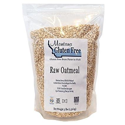 Montana Raw última intervensión de gluten Harina de avena, 3 ...