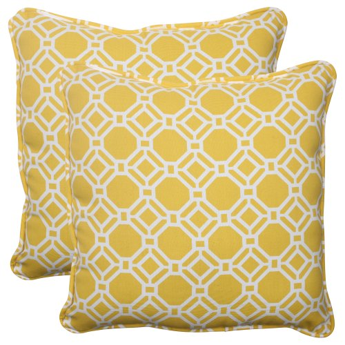 Pillow Perfect Outdoor Rossmere 18 5 Inch