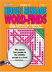 Hidden Message Word-Finds Volume 76 By KAPPA