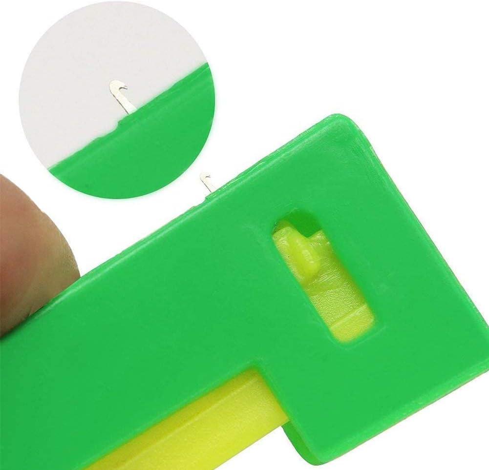 WENTS Infila Automatico 20 Pezzi Infila Ago Dispositivo Ago Autofilettante Facili da Usare e trasportare Dispositivo Ago Guidafilo Automatico in Plastica Adatto per Bambini Giovani e Anziani