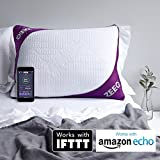 ZEEQ Smart Pillow, Stop Snoring, Sleep Tracker, Sleep Music, Alarm Clock and ZEEQ App