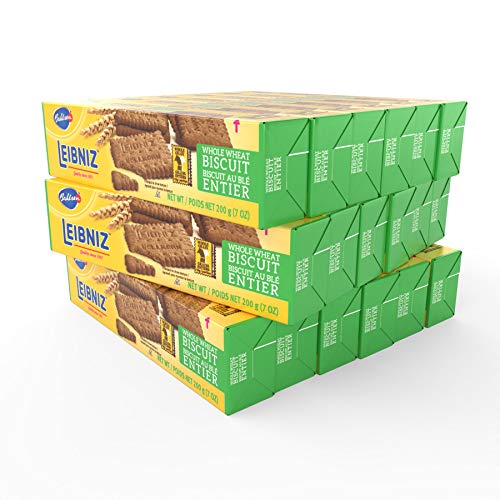 Bahlsen Leibniz Butter Biscuits (18 Pack)   Our classic Whole Wheat Butter Biscuit (7 ounce boxes)