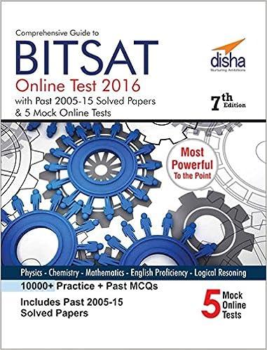 Bitsat 2015 Question Paper Pdf
