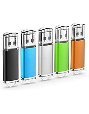 U215 2.0 USB Memoria 5 Pack