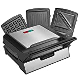 Best Waffle Makers - REDMOND Waffle Maker, Sandwich Maker, 800-Watts 3-in-1 Function Review