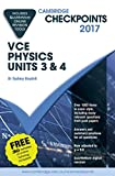 Cover of Cambridge Checkpoints VCE Physics Units 3 and 4 2017 and Quiz Me More
