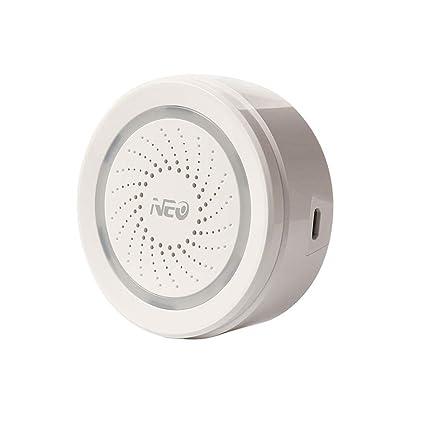 tianranrt WiFi USB sirena Alarma Sensor Smart inalámbrico ...