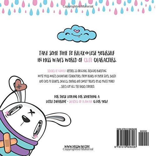 Shades of Kawaii: A Cute Colouring Book: Amazon.es: Miss Wah: Libros ...