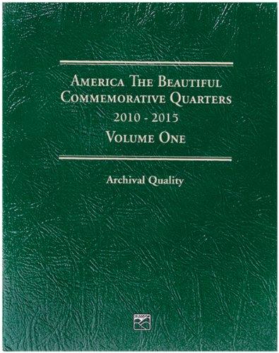 Littleton America The Beautiful Commemorative Quarter Folder-Volume One 2010-2015 - Commemorative Statehood Quarters