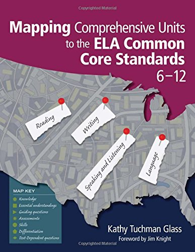 Mapping Comprehensive Units To The Ela Common Core Standards  6 12