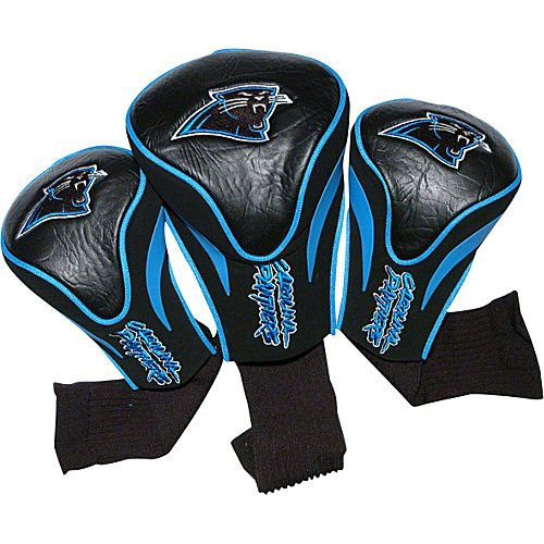 Team Golf Carolina Panthers 3 Pack Contour Headcover Golf ()